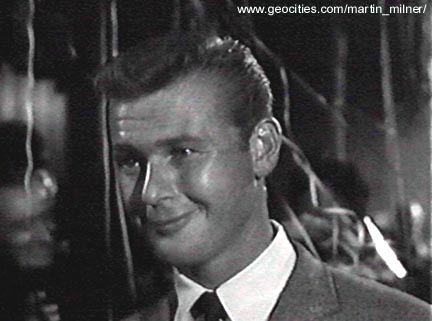 """Martin Milner on Route 66: """"A Fury Slinging Flame"""" Airdate: December"""